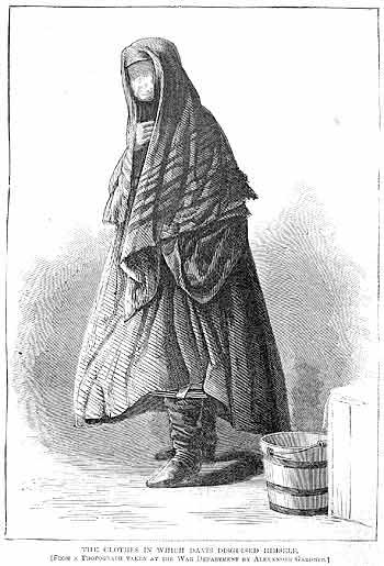 The Clothes in which Davis Disguised Himself